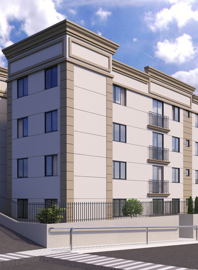 Projeto do Residencial Collina Belvedere