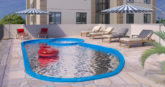 Piscina do Residencial Collina Belvedere